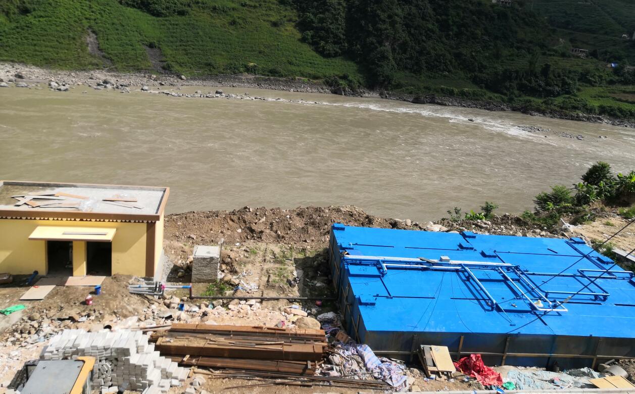 350吨生活污水处理设备